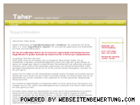 Ranking Webseite teppichbodendepot.de