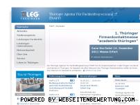Ranking Webseite thaff-thueringen.de