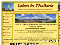Informationen zur Webseite thaileben.npage.de