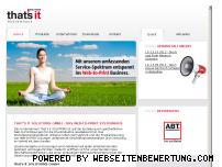 Ranking Webseite thatsit-solutions.de