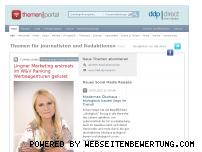 Ranking Webseite themenportal.de