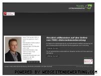 Informationen zur Webseite thiel-unternehmensberatung.de