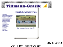Ranking Webseite tillmann-grafik.de