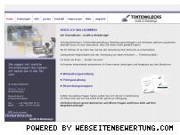 Ranking Webseite tintenklecks-webdesign.de