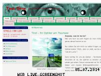 Informationen zur Webseite tinzl.at