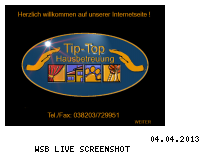 Ranking Webseite tip-top-hausbetreuung.de