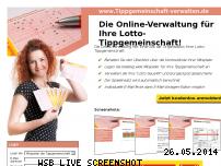 Informationen zur Webseite tippgemeinschaft-verwalten.de