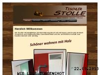 Informationen zur Webseite tischler-stolle.de