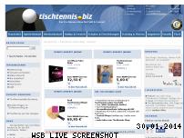 Ranking Webseite tischtennis.biz
