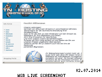 Informationen zur Webseite tn-hosting.eu