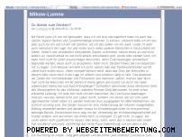 Ranking Webseite tom-mikow.blog.de