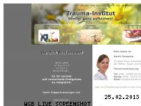 Ranking Webseite trauma-institut.com