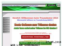 Informationen zur Webseite traumdeuten.biz