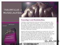 Informationen zur Webseite traumfigur-und-muskelaufbau.eu