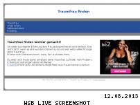 Informationen zur Webseite traumfrau-finden.ch