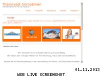 Ranking Webseite trierinvest-immobilien.de