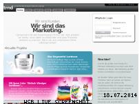 Ranking Webseite trnd.de
