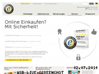 Ranking Webseite trustedshops.de