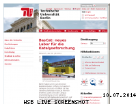 Informationen zur Webseite tu-berlin.de