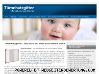 Informationen zur Webseite tuerschutzgitter24.de