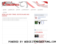 Ranking Webseite turkishpress.de