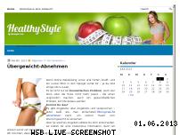 Informationen zur Webseite uebergewicht-abnehmen.net
