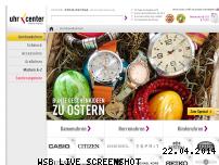 Ranking Webseite uhrcenter.de