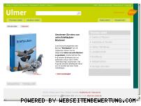 Ranking Webseite ulmer.de