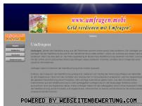 Informationen zur Webseite umfragen.mobi