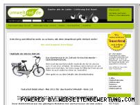 Ranking Webseite umweltrad.de