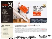 Informationen zur Webseite umzuege-berlin24.de