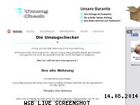 Informationen zur Webseite umzug-checker.de