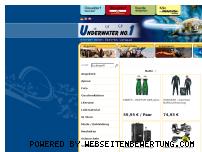 Ranking Webseite underwater-no1.com
