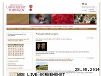 Ranking Webseite uni-tuebingen.de