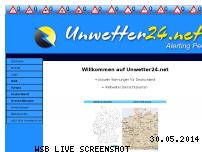 Informationen zur Webseite unwetter24.net