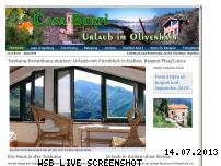 Ranking Webseite urlaub-im-olivenhain.de