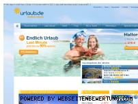 Ranking Webseite urlaub.de