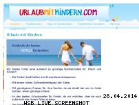 Ranking Webseite urlaubmitkindern.com