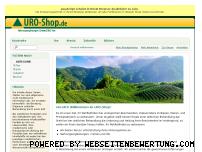 Ranking Webseite uro-shop.de