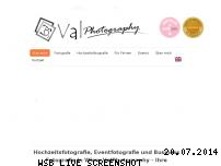 Informationen zur Webseite valphotography.at