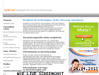 Ranking Webseite varita.de