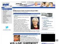 Informationen zur Webseite vdk.de