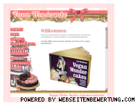 Ranking Webseite vegan-wondercake.de