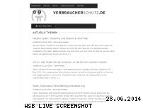 Informationen zur Webseite verbraucherschutz.de
