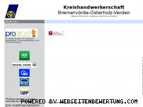Ranking Webseite verden-handwerk.de