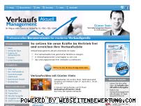 Ranking Webseite verkaufsmanagement-aktuell.de