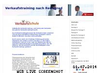 Informationen zur Webseite verkaufsschule.de