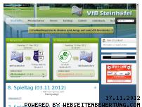 Ranking Webseite vfb-steinhoefel.de