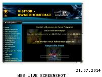 Ranking Webseite visitoraward.repage.de