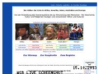 Ranking Webseite voelker-der-erde.de